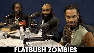 The Breakfast Club - Flatbush Zombies On Psychedelics, Music Truths, Mental Illness + More
