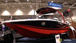 2016 Four Winns TS 222 Tow Series Motor Boat - Walkaround - Debut at 2016 Toronto Boat Show