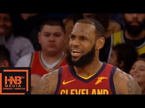 Cleveland Cavaliers vs New York Knicks 1st Half Highlights / April 9 / 2017-18 NBA Season