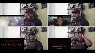 Star Wars: The Last Jedi Trailer (Official) REACTION!!!