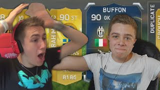 """FIFA """"Up For Grabs"""" Pack Opening Vs MINIMINTER"""
