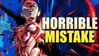I MADE A HORRIBLE MISTAKE!   Dragon Ball Legends   DB Legends