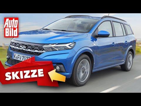 Dacia Logan MCV (2021)   So kommt der neue Dacia Logan MCV   Skizze