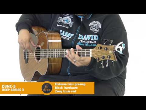 Ortega Guitars | D3NC-5 - Deep Series 3 (Acoustic Bass Guitar)