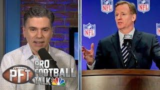 Roger Goodell remains mum on CBA negotiations | Pro Football Talk | NBC Sports