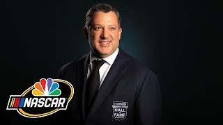 Tony Stewart inducted into NASCAR Hall of Fame (FULL SPEECH) | Motorsports on NBC