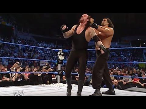 Great khali vs undertaker best fight