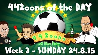 442oons of the Day -WEEK 3 (Pedro, WBA 2-3 Chelsea, Terry Red, Hoffenheim 9 second goal and more)