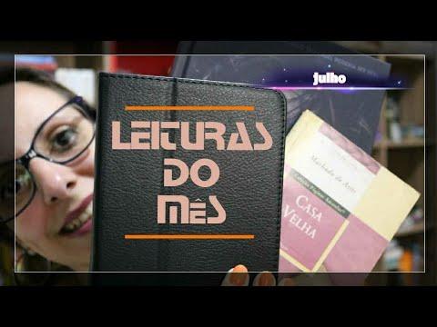 Leituras do Mês | JULHO | 2018 | Pilha de Leitura