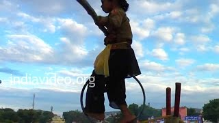 Acrobatics at Pushkar grounds