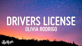 Olivia Rodrigo – drivers license (Lyrics)