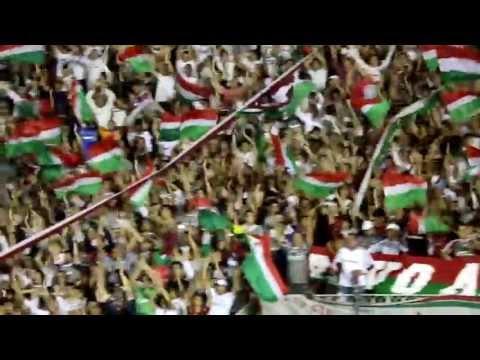 """""Desde que eu nasci..."" Paradão Fluminense x Emelec - Libertadores 2013"" Barra: O Bravo Ano de 52 • Club: Fluminense"