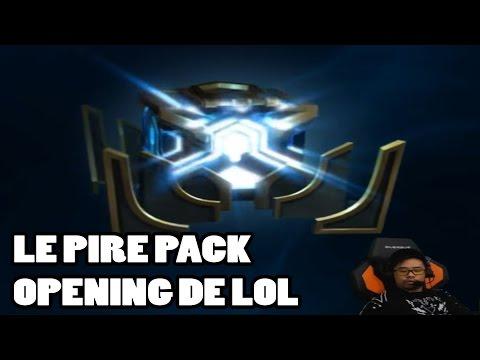 LE PIRE OPENING PACK DE LEAGUE OF LEGENDS - LRB