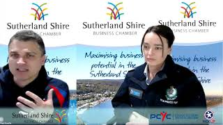 Sutherland Shire Business Chamber Speaker Series Event 110620 - Supporting the RISEUP Strategy.