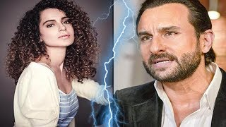 Kangana Ranaut SLAMS Saif Ali Khan With An Open Letter on Nepotism INSULT