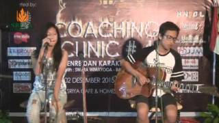 Gambar cover Marsya and Friends 'Cinta dan Rahasia' on Coaching Clinic #4 at Sriya Cafe and Homestay Jepara