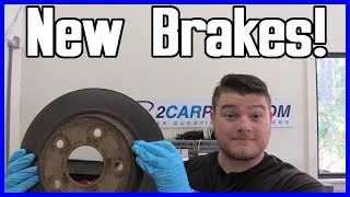 Brake Pad and Rotor Replacement - Front Dodge
