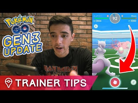 POKÉMON GO UPDATE IS LIVE - BATTLE UPDATE, NEW ITEMS, GEN 3 MOVES + MORE