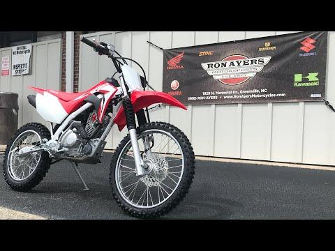 2021 Honda CRF125F (Big Wheel) in Greenville, North Carolina - Video 1