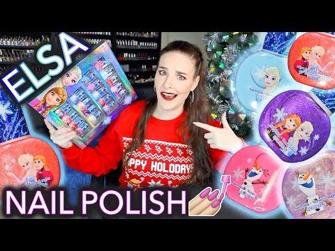 Adult Reviews Kids Elsa Nail Polish (not for kids)