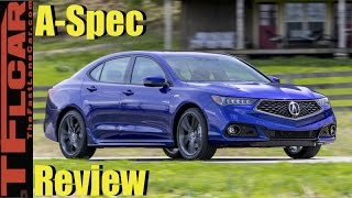 2018 Acura TLX Sneak Peek Review: More Than Just a Pretty New Face?