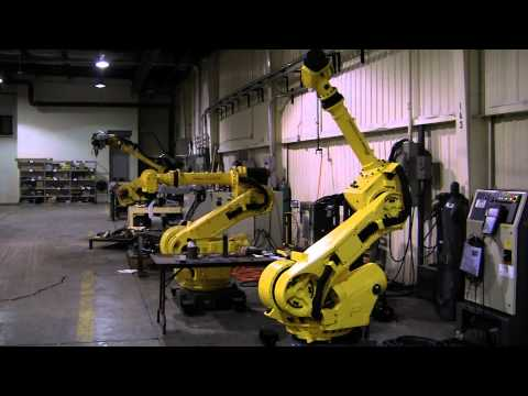 FANUC's R-2000iA/165F Industrial Robot