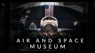 Virtual Tour of the Smithsonian Air and Space Museum   Steven Udvar-Hazy Center near Washington DC