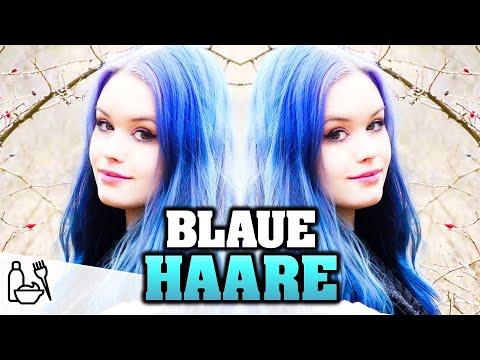 Haare Färben Von Pink Zu Blond Zu Türkisblau смотреть онлайн на