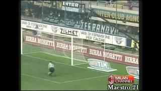 Inter 1-3 AC Milan 21-10-2001 [ 3 goals in 6 minutes ]