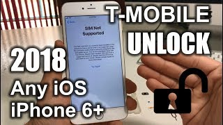How To Unlock iPhone 6 Plus From T-Mobile to Any Carrier