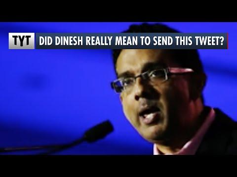 Dinesh D'Souza's NSFW Ted Cruz Tweet
