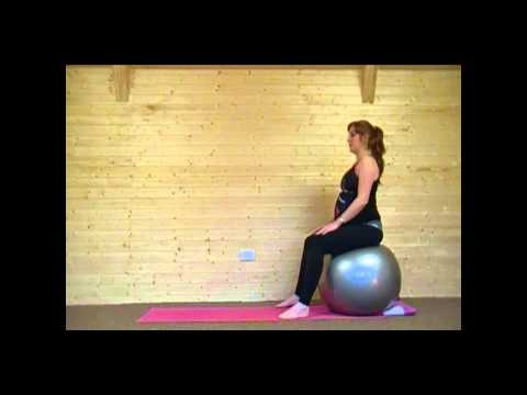 Pregnancy Ball Yoga Class