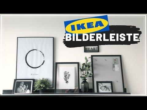 Bilderleisten dekorieren (Gallery Wall Tipps & Tricks) IKEA MOSSLANDA