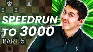 GM Eric Hansen BLITZ SPEEDRUN to 3000 | 2300-2500
