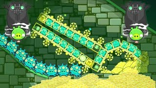 Bad Piggies - 30 ALIEN NEED GOLD IN PIGGIES PLANET!!!