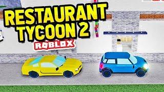 DRIVE THRU UPDATE in Restaurant Tycoon 2