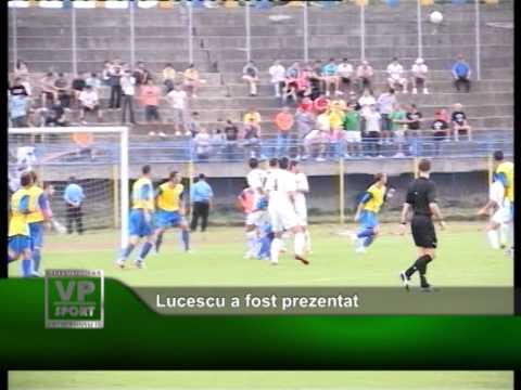 Lucescu a fost prezentat