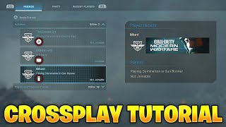 HOW to ADD FRIENDS in Modern Warfare! (MW Crossplay Tutorial)