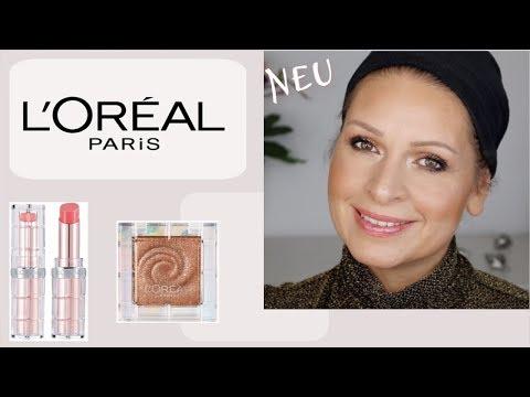 Neuheiten bei LOREAL Paris OIL Shadows und neue Color Riche Shine Lippenstifte I Mamacobeauty