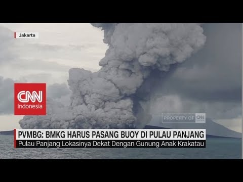 Vulkanologi Asing: Anak Krakatau dalam Fase Mematikan, Badan Geologi Menampik