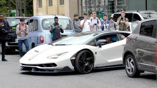 SWAPPING his $2.5Million Lamborghini CENTENARIO for his $3Million Bugatti CHIRON!