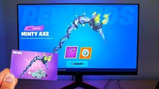COLLECT THIS FREE ITEM in Fortnite! (MINTY AXE)