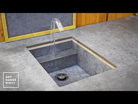 How to Make a Sink, Countertop, Tap and Water System // Studio Kitchen - Ep. 3