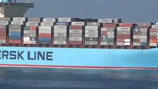 EMMA MAERSK самый большой грузовой корабль