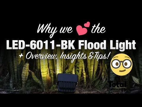 Why we LOVE the LED-6011-BK Outdoor Landscape Lighting Flood Light + overview, insights & tips