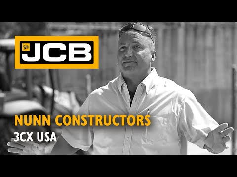 JCB at work for Nunn Constructors - USA