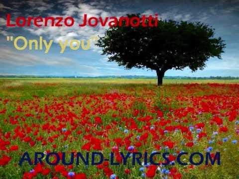 Jovanotti - Only you