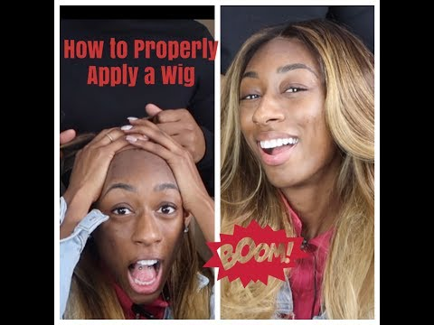 How to Properly Apply a Wig with Mike Shears