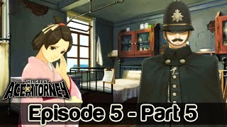 The Great Ace Attorney English Walkthrough Episode 5: Part 5 Dai Gyakuten Saiban (HQ) No Commentary