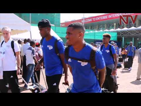 Cape Verde squad in Uganda ahead of AFCON qualifier
